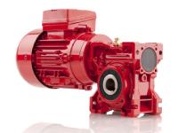 Aluminum Housing Worm Geared Motor
