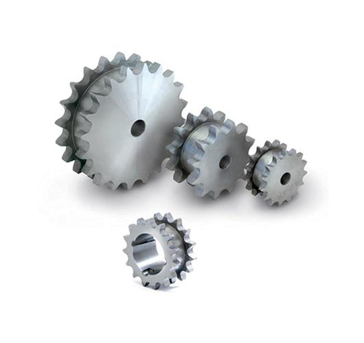 Duplex platewheels 2 chains